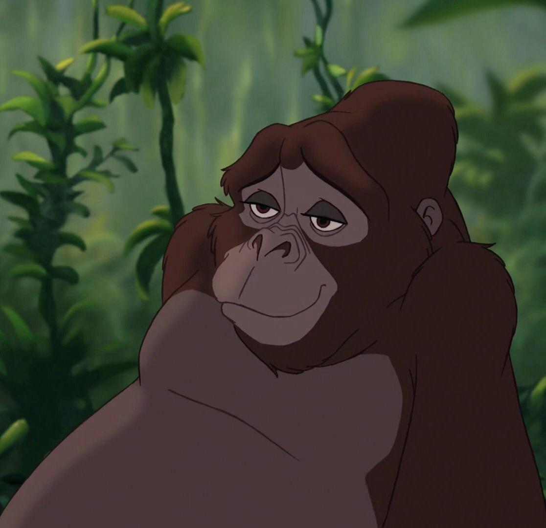 Girl Gorilla In Tarzan