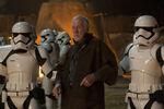 Lor San Tekka with Stormtroopers