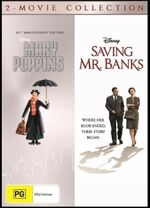 Mary Poppins & Saving Mr Banks 2 Movie Collection 2018 AUS DVD