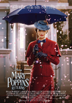 Mary Poppins Returns Spanish poster