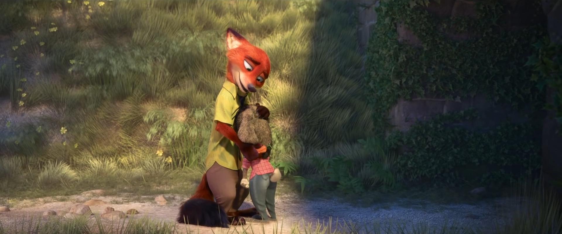 Disney Zootropolis//Zootopia MINI PERSONNAGE FIGURINE-Teeny Tiny Finnick