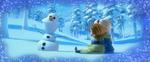 Olaf kleine Anna und Elsa