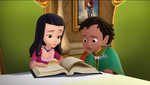 Princess Vivian & Prince Khalid could make a Thermometer Flute