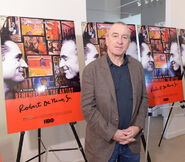 Robert De Niro at HBO reception of documentary of his father
