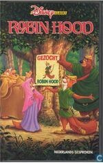 Robin Hood 1992 Dutch VHS
