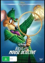 Basil the Great Mouse Detective 2016 AUS DVD