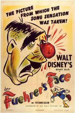 Der Fuhrer's Face Poster
