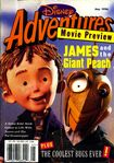 Disney adventures may 1996 cover james giant peach