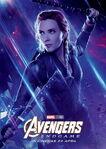 Endgame Internacional Character Poster (Black Widow)