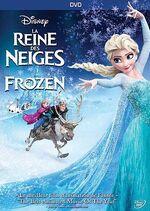 Frozen DVD Bilingual