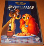 Lady and the Tramp 2000 AUS DVD