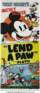 Lend a paw poster alternative