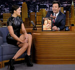 Mandy Moore visits Jimmy Fallon
