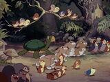 Animali della foresta (Biancaneve)