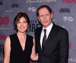 Steve Buscemi & Kelly MacDonald at Boardwalk Empire S4 premiere