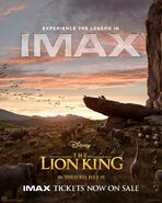 The Lion King - IMAX Poster