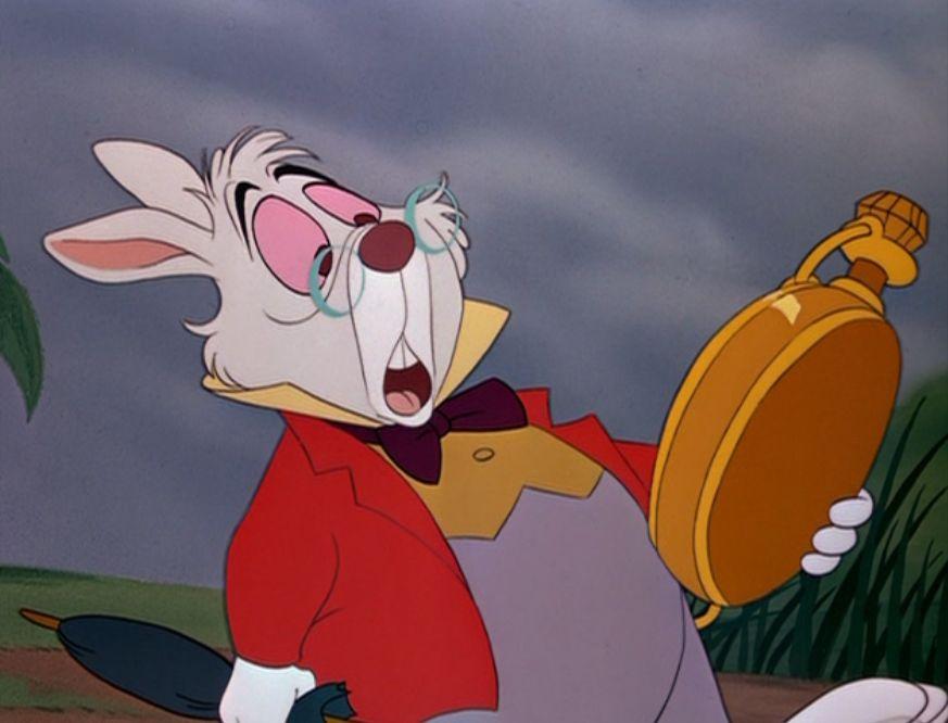 Image result for alice in wonderland rabbit