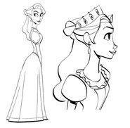 Visual development for Queen Arianna 1