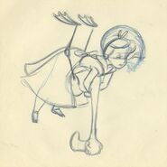 Alice Flamingo Milt Kahl sketch