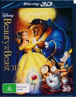 Beauty and the Beast 2011 AUS Blu Ray 3D