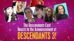 Cast Reactions! 🙌 😍 Descendants 3