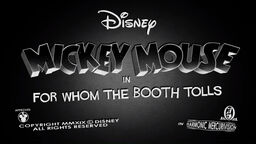 Mickey Mouse 2013 For Whom the Booth Tolls title card