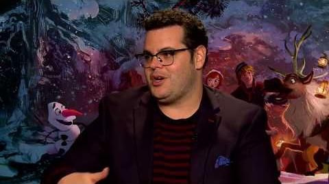 Olaf's Frozen Adventure Josh Gad Interview