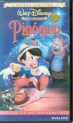 Pinocchio brazil vhs 2001