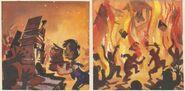 Pleasure Island Boys Burning Books