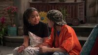 Raven's Home - 1x02 - Big Trouble in Little Apartment - Nia and Tess