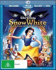 Snow White and the Seven Dwarfs 2009 AUS Blu Ray