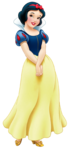 Snow white transparent