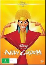 The Emperor's New Groove 2016 AUS DVD