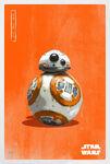 The Last Jedi BB-8 Poster