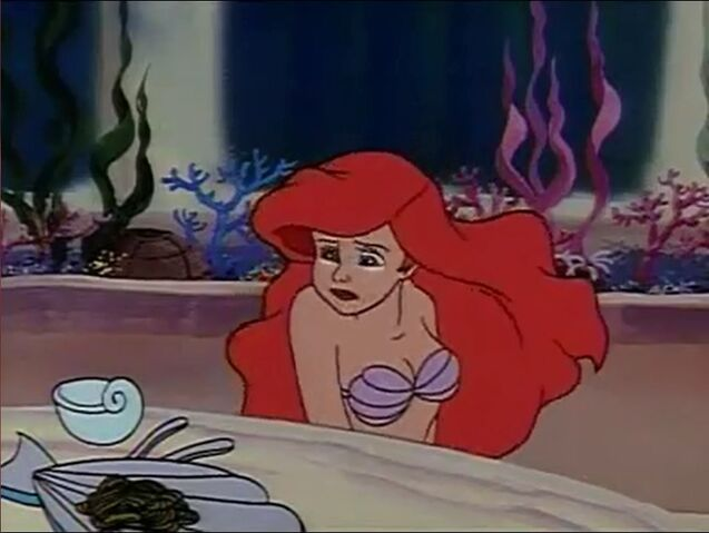 File:The Little Mermaid - Ariel's Sad Face from Stormy the Wild Seahorse.jpg