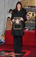 Anjelica Huston Hollywood Walk of Fame