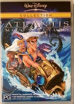 Atlantis- Milo's Return 2003 AUS DVD Second