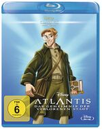 Atlantis the Lost Empire 2017 Germany Blu-Ray