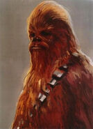 Chewie TFA Concept Art