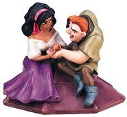 Esmeralda and Quasimodo WDCC