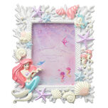 Photo Frame Ariel & Flanders MERMAID LAGOON