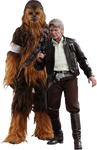 Star-wars-the-force-awakens-han-and-chewbacca-sixth-scale-set-hot-toys-silo-902761