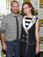 Will Forte & Kristen Schaal SDCC