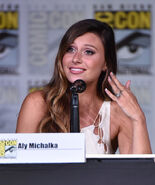 Aly Michalka SDCC