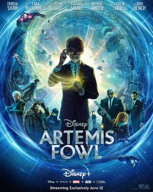 Artemis Fowl - Disney+ poster