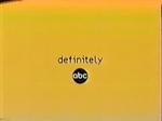 Definitely ABC (2000-2001)
