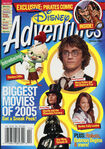 Disney Adventures Magazine cover February 2005 Movies