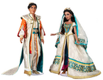 Jasmine and Aladdin Limited Edition Doll Set - Live Action Film - 17''