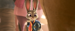 Judy waves at finnick