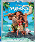 Moana Blu-ray Cover